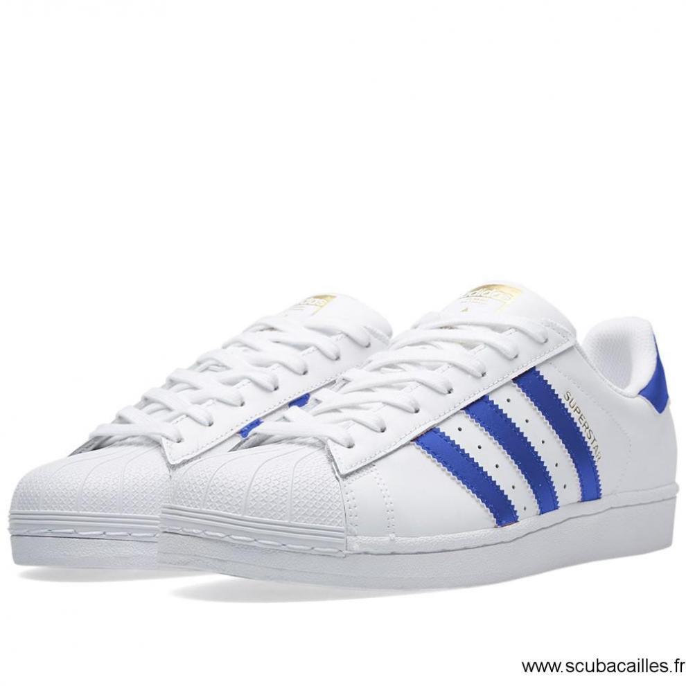 détaillant en ligne 551e7 c2bd9 adidas superstar bleu 37