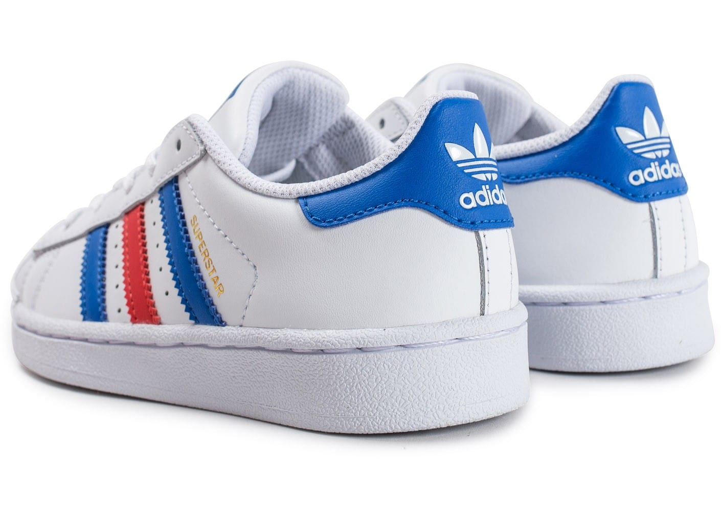 low priced 0fedc a2847 Adidas-Superstar-Baskets-Blanc-Bleu-Rouge-Hommes-S- Adidas Superstar bleu  Chaussures adidas originals zestra w sneakers noir femme,adidas superstar 37  2 3 ...