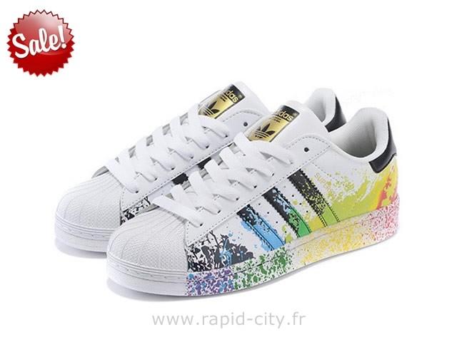 nouveau style 7c339 85fec adidas superstar chaussures