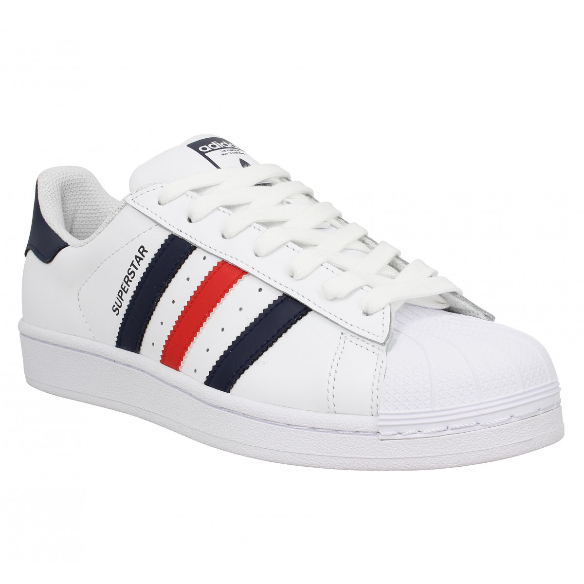 save up to 80% where to buy attractive price adidas superstar foundation rouge