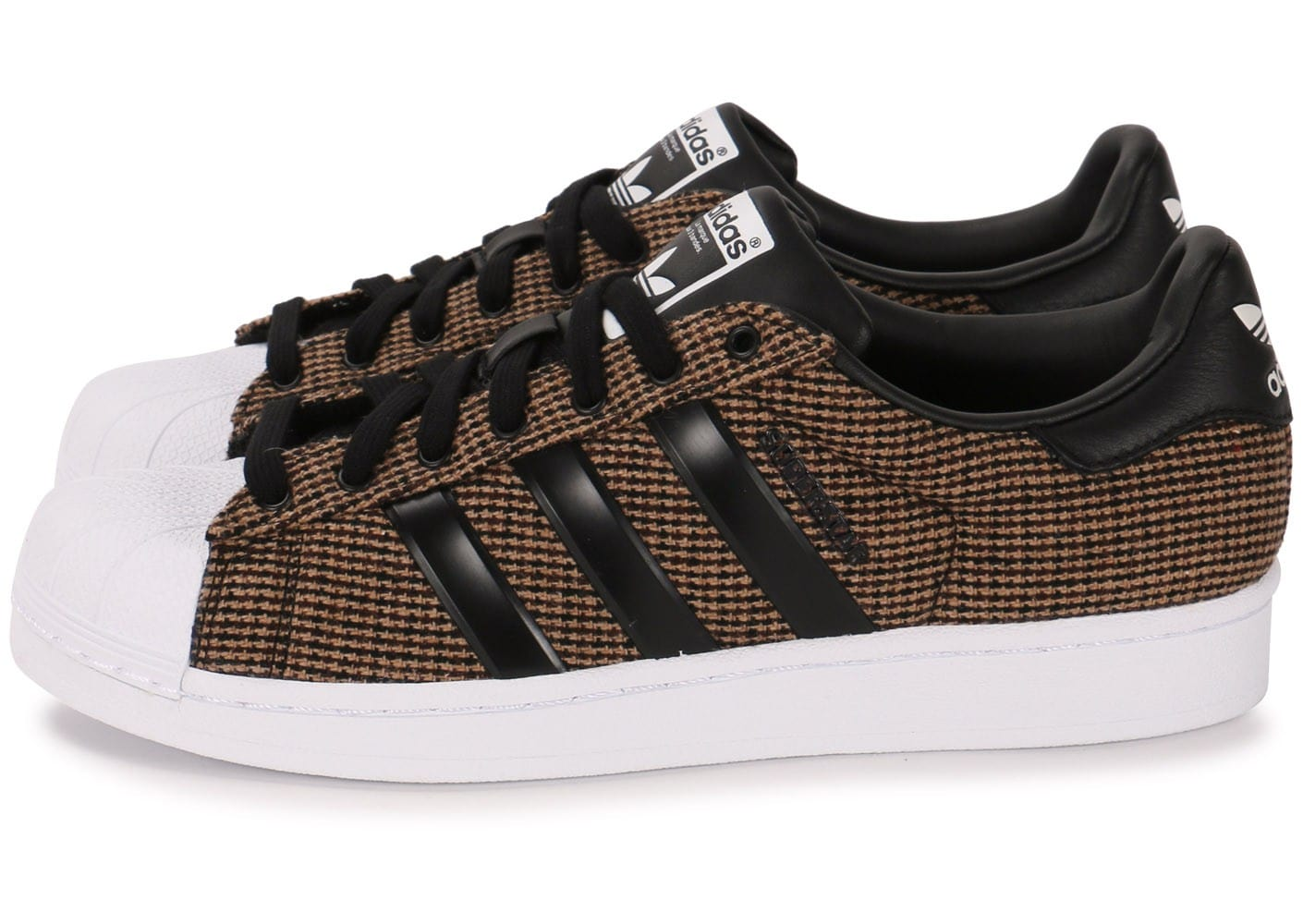 design de qualité 07096 dc8fb adidas superstar marron homme