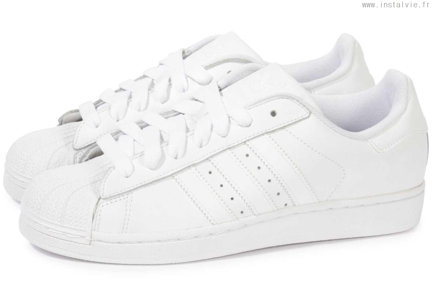 superstar adidas homme blanche