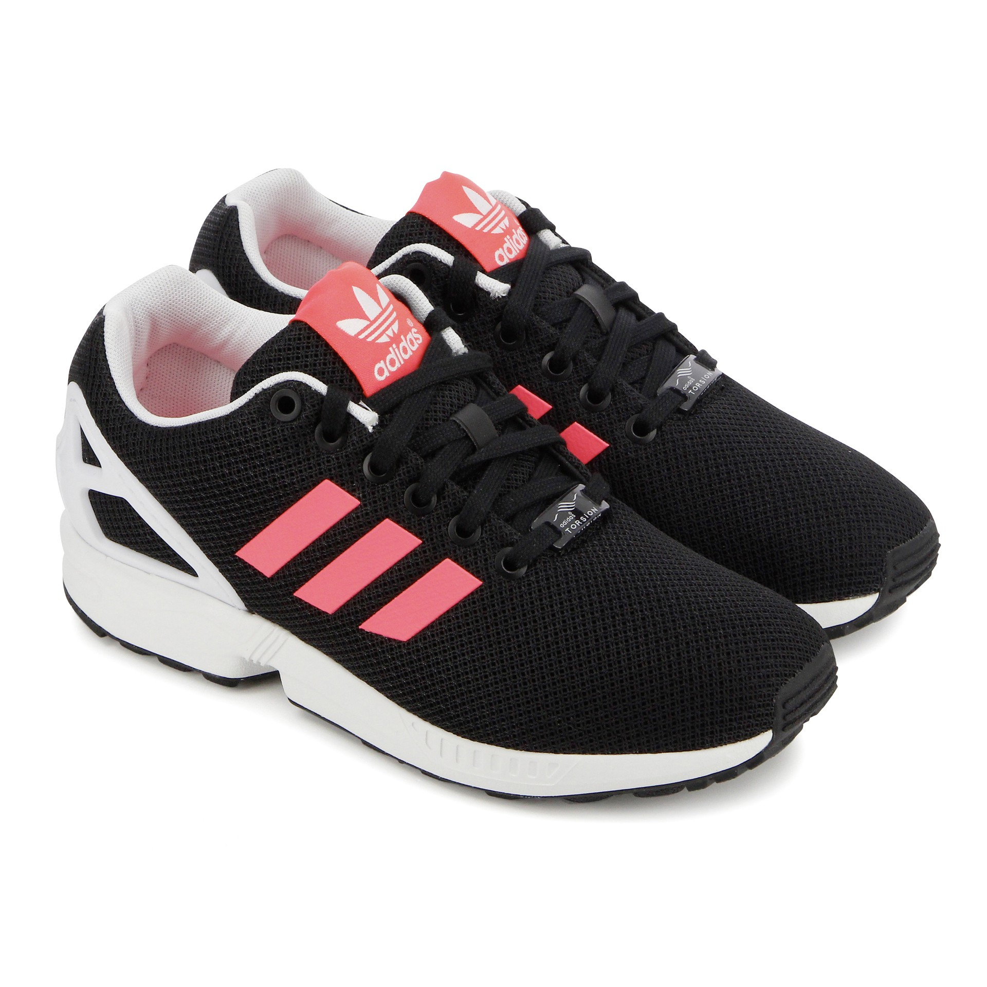 adidas zx flux femme noir rose