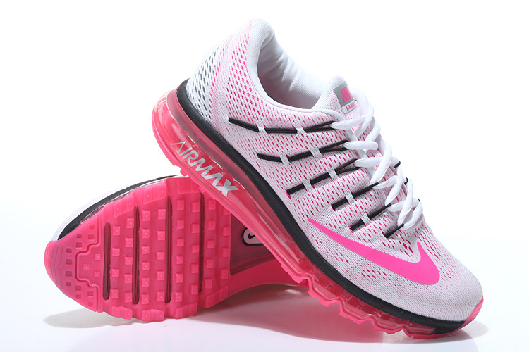 moins cher 64332 77f34 air max 2016 blanche et rose