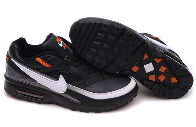 hot sale online 18748 f0325 Homme Nike Noir Orange Air Max Air Max Bw Pour Basket Et Blanche Et Chaussures  Nike Air Max 91 Orange Noir Bleu Homme air ...