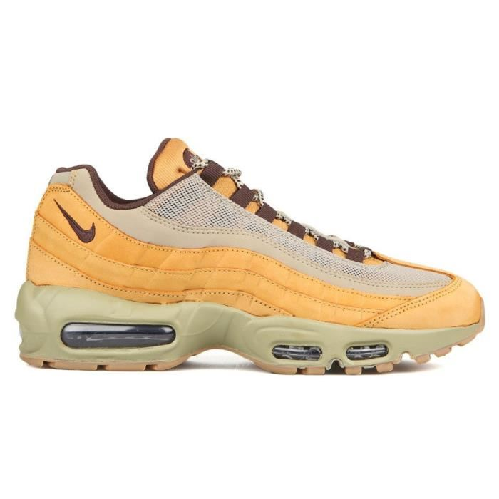 pick up official photos hot sale buy popular bc883 4f25e basket femme nike air max 95 premium camel ...