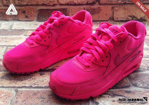 nike air max rose fluo