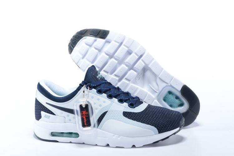 classic shoes newest high fashion air max zero bleu et blanche