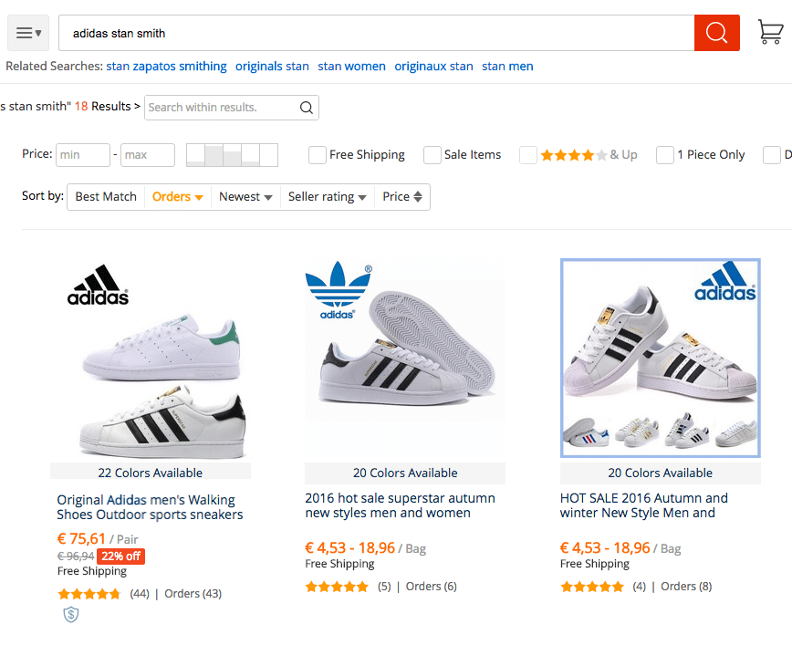 best sell outlet on sale delicate colors aliexpress adidas stan smith