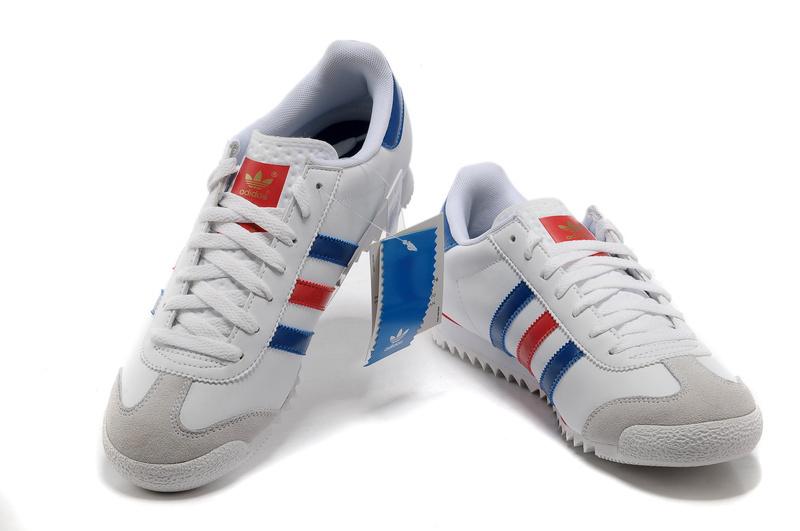 chaussure adidas bleu blanc