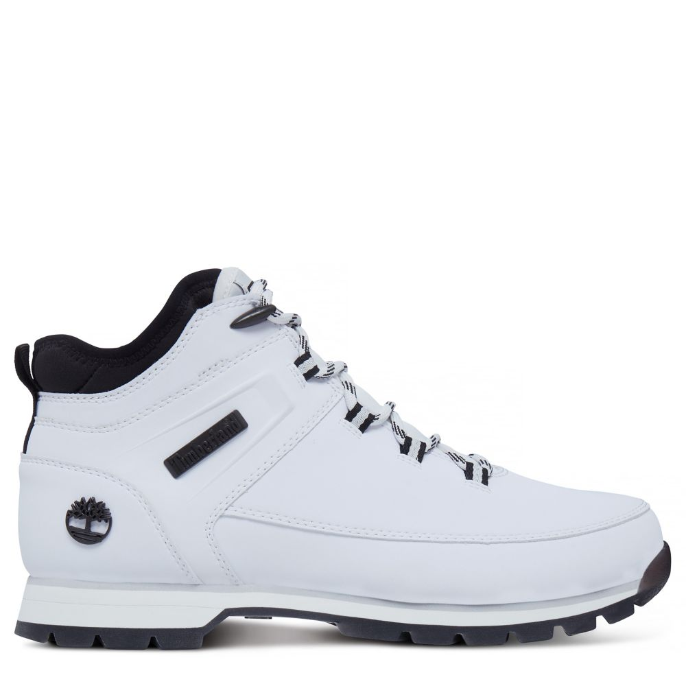 timberland euro sprint blanche homme